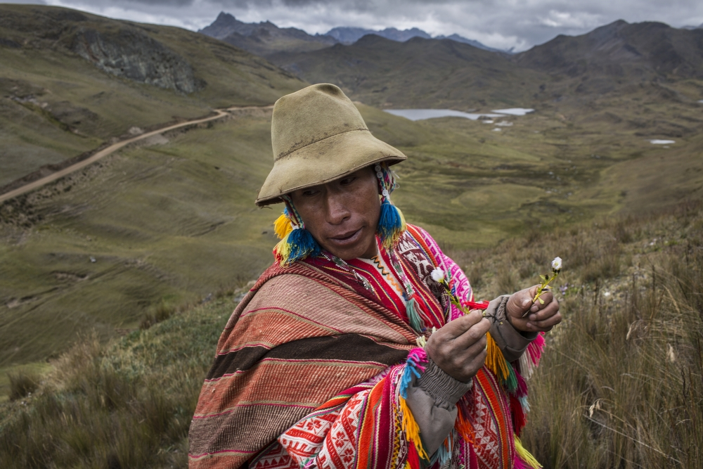 Daily life in the Sacred Valley, near Pisac in the Cusco region, Peru, on Monday, May 25, 2015